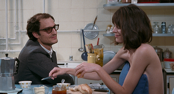 Louis Garrel et Stacy Martin-Le Redoutable  ©Les Compagnons du Cinéma