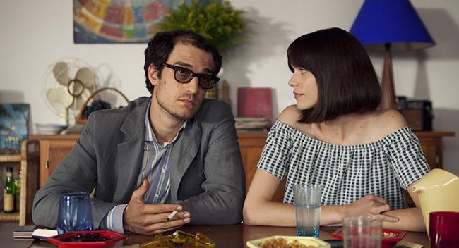Louis Garrel et Stacy Martin-Le Redoutable ©Les Compagnons du Cinéma - Photo Philippe Aubry