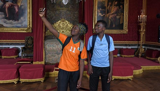 Tabono Tandia et Abdoulaye Diallo dans Les Grands Esprits - Ph. Michael Crotto