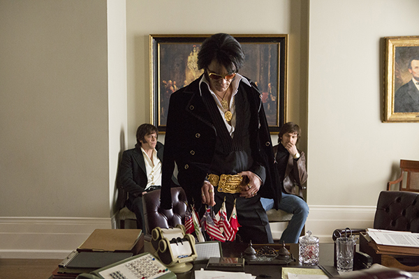 Michael Shannon - Johnny Knoxville -Alex Pettyfer -Elvis & Nixon