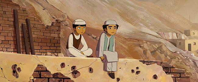 The Breadwinner _Parvana and Shauzia © Westend Films Ltd