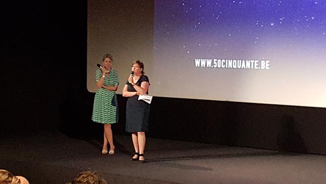 Jeanne Brunfaut et Alda Greoli