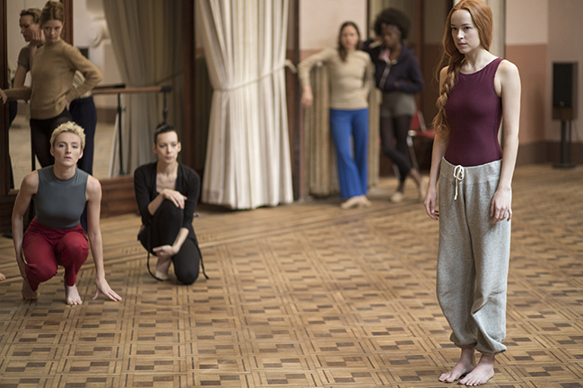 Dakota Johnson stars in SUSPIRIA Photo: Sandro Kopp/Amazon Studios