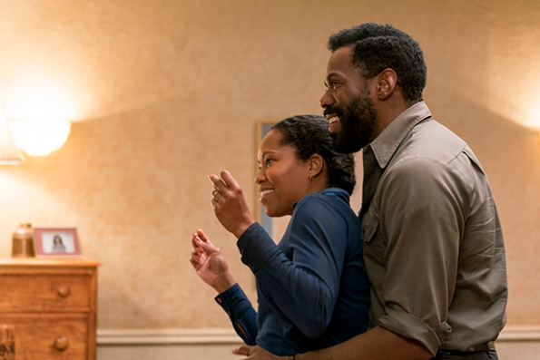 Regina King as Sharon and Colman Domingo as Joseph star in Barry Jenkins' IF BEALE STREET COULD TALK, an Annapurna Pictures release.